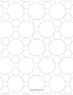 This Tessellation Includes Triangles And Squares Free To Download