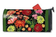 MailWraps Autumn Garden Mailbox Cover 02671 by MailWraps Large Mailbox, Rural Mailbox, Magnetic Mailbox Covers, Yard Design, House Flags, Autumn Garden, Garden Flags, Some Pictures, Lawn And Garden