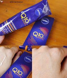 Nivea Q10 Plus C resenha Beauty Care, Beauty Hacks, Q10, Spa Day, Red Bull, Body Care, Clear Skin, Health Fitness, Photoshop