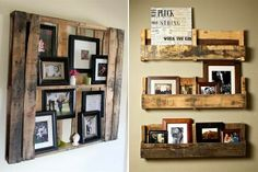 "really nice, my home will be full of ""pallets"" :B) Rustic Room, Rustic Decor, Eco Furniture, Palette, Pallet Projects, Diy Projects, Crafts To Do, Wood Pallets, Pallet Wood"