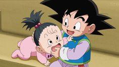 Goten and Pan - Dragon Ball Super episode 43