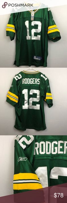 Aaron Rodgers Authentic Onfield Reebok Jersey NWT Green Bay Packers  Authentic on Field Reebok jersey 71b060430