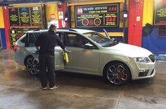 Skoda Octavia V RS Cleaned