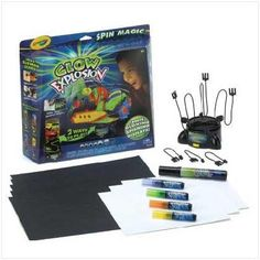 Kids Crayola Glow Explosion Color Playset Free Shipping!