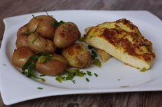 Smotanové rezne Pretzel Bites, Baked Potato, Potatoes, Bread, Chicken, Baking, Vegetables, Ethnic Recipes, Food
