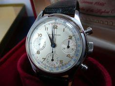 Vintage 50's Wittnauer Professional Valjoux 72 Swiss Chronograph RARE Watch | eBay