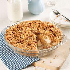 Pourquoi choisir entre une croustade aux pommes et une tarte quand on peut avoir les deux dans la même recette? Cette tarte à la croustade aux pommes est un dessert facile à préparer et délicieux, surtout lorsqu'il est fait avec des pommes de saison!