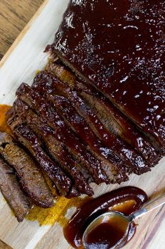 The Easiest Baked Brisket Recipe - Stuck On Sweet Oven Cooked Brisket, Baked Brisket, Grilled Brisket, Slow Cooker Brisket, Beef Brisket Recipes, Smoked Beef Brisket, Barbecue Recipes, Grilling Recipes, Cooking Recipes