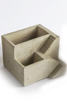Mothology.com - Cement Architectural Plant Cube Planter II, $14.95 (http://www.mothology.com/cement-architectural-plant-cube-planter-ii/)