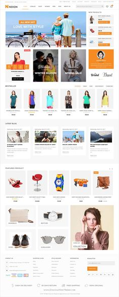 Nexon is clean and modern design responsive #Shopify theme for stunning #eCommerce website download now➩ https://themeforest.net/item/nexon-multipurpose-premium-responsive-shopify-theme/19692963?ref=Datasata