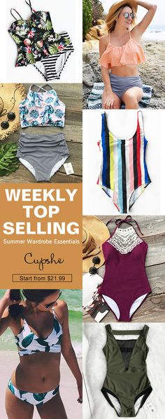Give this summer even hotter, baby! Time to treat yourself something special. We prepare weekly hottest items for you. Come to our Cupshe.com and check them out!