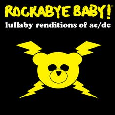 Accessories :: Sleeptime :: ROCKABYE BABY! CD- AC/DC - Little Blessings