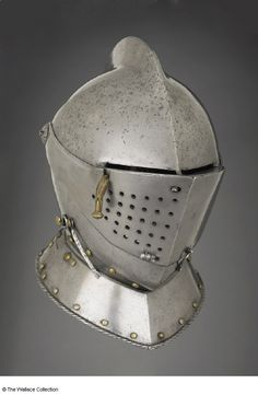 German Helmet ca. 1590 The Wallace Collection