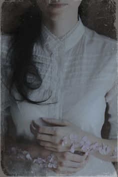 When I think about you, flowers grow out of my flesh by Anna O. Photography