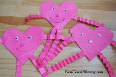East Coast Mommy: 5 Simple Valentine's Day Crafts for Kids