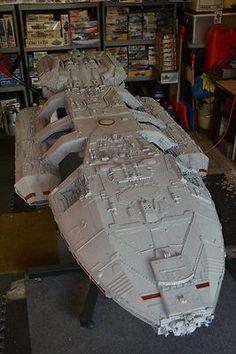 Original Battlestar Galactica model