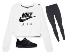 """They look up to me 👀"" by laurenatria11 ❤ liked on Polyvore featuring NIKE"