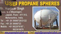 Used Propane Sphere