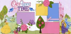 Once Upon A Time Page Kit