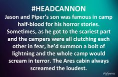 I bet that Chiron would jump a little too, and maybe Mr.D would spill some of his diet coke. #PercyJackson