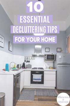 My home is so messy and could use all of these declutter tips! They're very simple declutter ideas and give me some good ideas on things to declutter. #Macarons&Mochas #DeclutteringHacks House Cleaning Tips, Cleaning Hacks, Declutter Your Home, Clean House, Macarons, Give It To Me, Simple, Furniture, Ideas