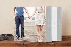 Timeless Wedding Invitation Minibook™ Cards by Oscar & Emma at minted.com