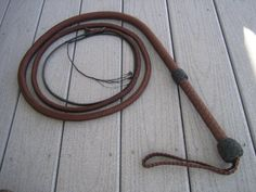 bullwhip | Unusual Weapons and How to Use Them
