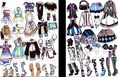 -CLOSED- Outfit package by Guppie-Adopts on deviantART