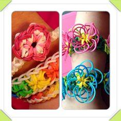 Awesome rubber band bracelets!!!