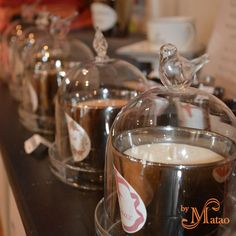 Cloches pour bougies By Matao