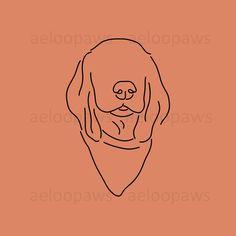 Cocker Spaniel Instagram Story Highlight Covers | Dog Instagram Story Highlight Icons | Dog Instagram Story Highlights, Cocker Spaniel Puppy Dog Illustration, Illustrations, Cocker Spaniel Puppies, Dog Paintings, Story Highlights, Dog Portraits, Dog Art, Instagram Story, Dog Lovers