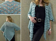 Zen Jacket Free Crochet Pattern