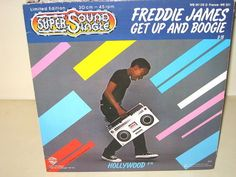 Freddie James - Get Up And Boogie (8:18) Hollywood (8:14) 12 MAXI MINT