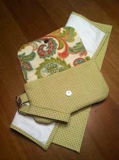 Diaper Clutch and matching Changing pad by CraftinNOLA on Etsy, $30.00