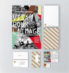 International Festival of Photojournalism Visa Pour l'Image / Marie Codina  #design #print