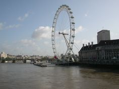 The London Eye was a great way to view the city London Eye, Fair Grounds, In This Moment, City, Travel, Image, Viajes, Cities, Trips