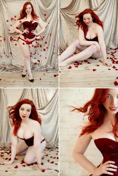 Valentines Day Boudoir Photo Shoot © Elizabeth Lois Photography
