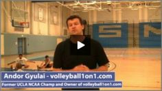 In this video Andor Gyulai presents Volleyball Practice Plan. Andor started playing volleyball at age 14 and started coaching at the age 16. Now Andor  have 20 years' experience and he coached 8 different teams in one year. Andor also presents, 1500+ instructional volleyball videos and drills. Part of http://www.volleyball1on1.com/volleyball-practice-plan-1-by-andor-gyulai-part-1/