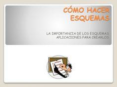 Cómo hacer esquemas. by Gema Aguado Laureos via slideshare
