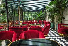10 bars et restaurants tropicaux autour du monde Le Très Particulier, Paris A l'Hotel Particulier, 23 Avenue Junot, 75018, www.hotel-particulier-montmartre.com