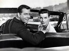 Jean Peters con Casey Adams