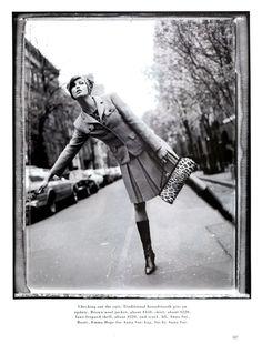Linda Evangelista | Photography by Patrick Demarchelier | For Harper's Bazaar Magazine US | August 1995