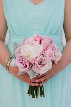 A Romantic Blush, Mint & Gold Wedding Color Schemes, Wedding Colors, Wedding Flowers, Mint Gold Weddings, Blush And Gold, Groom, Reception, Bridesmaid, Romantic