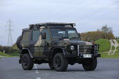 Mercedes-Benz G-Class military version by Auto Clasico, via Flickr