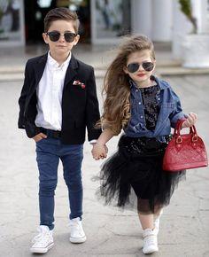 Mini fashionistas ⭐️ @maks_model @brisimichelle WEBSITE - WWW.KIDZOOTD.COM For a chance to be featured #kidzootd follow @kidzootd #fashion#ootd#kidsfashion#kids#kidzootd#instafashion#childrensfashion#kidswear#childrenswear#style#stylish#trendy#boysfashion#girlsfashion