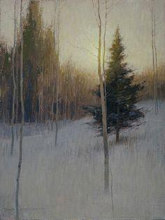 Matthews Gallery David  Grossmann Late Winter Day