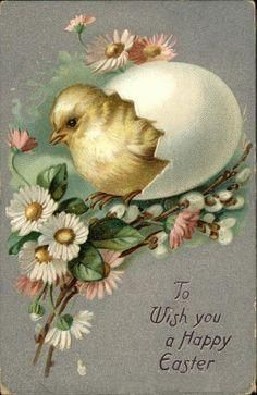 To wish you a happy easter....