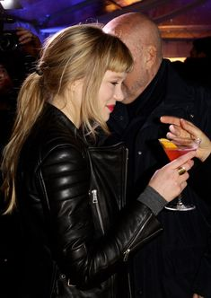 Lea Seydoux - love the jacket!