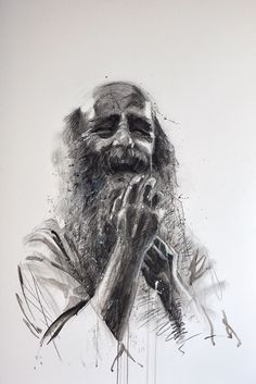 Expression(s), Fusain, 80x120cm, 2012
