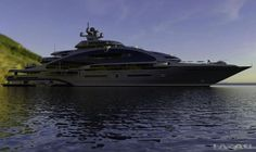 Los Diseñadores de Laraki Yacht Revelan el Gigantesco Mega Yate PRELUDE de 163 Metros Eslora